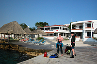 Beach diving at Scuba Club Cozumel